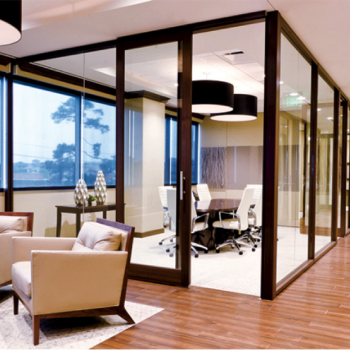 DIRTT Modular walls, office furniture design