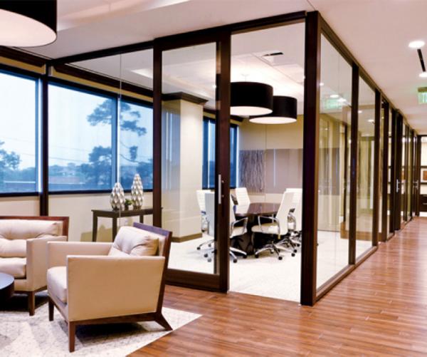 DIRTT Modular walls, office furniture design