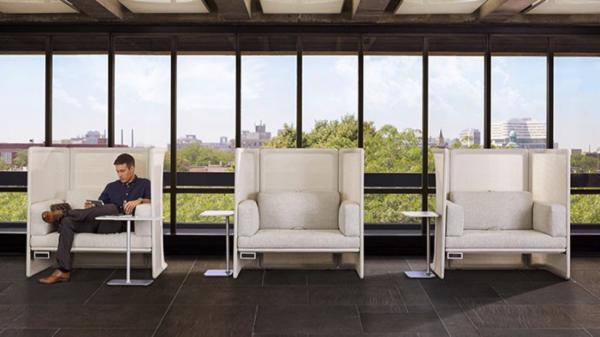 Office furniture design, trends in office design